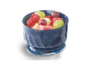 Hunter Green Dinex Turnbury Swirl Double Wall Insulated Bowl, 5 Ounce Capacity -- 48 per case.