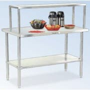 Dinex ValuXpress Economy Solid Top Counter - 3 Well, 49 x 30 x 36 inch -- 1 each.