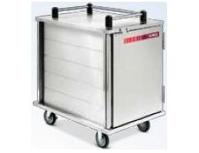 Dinex Enclosed Value Line Tray Delivery Cart, 19.25 x 24.50 x 42.63 inch, 6 Capacity -- 1 each.