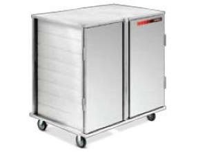 Dinex Enclosed Value Line Tray Delivery Cart - 2 Door, 46.34 x 34.22 x 48.40 inch, 28 Capacity -- 1 each.
