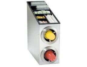 Dispense Rite CTC-L Combination Cup Dispensing Cabinet, 22 1/2 x 8 1/4 x 24 inch -- 1 each.
