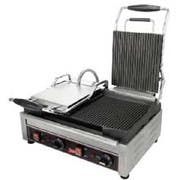 Cecilware Stainless Steel Double Flat Surface Sandwich/Panini Grill, 22.75 x 15 x 23.5 inch -- 1 each.