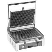 Cecilware Stainless Steel Single Grooved Surface Medium Duty Sandwich/Panini Grill, 15 x 12.5 x 19.75 inch -- 1 each.