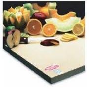 Teknor Apex Sani-Tuff Rubber Cutting Board, 15 x 20 x 3/4 inch -- 2 per case