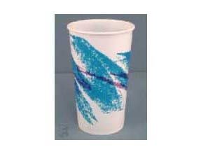 Sweetheart Wax Coated Paper Cup R12N 12 ounce Jazz -- 2000 Per Case.