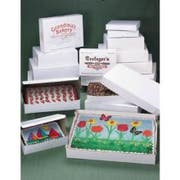 Southern Champion Tuck Top Poly Wrapped Cake Box, 14 x 10 x 4 inch -- 100 per case.