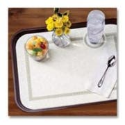 Hoffmaster 905-LD10 Specialty Lodging Printed Regal Non-Skid Traymat In-Room Service, 13.625 x 18.75 inch -- 1000 per case.