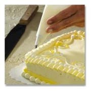 Hoffmaster Brooklace Parchment Cake Decorating Triangle, 17 x 17 inch -- 1000 per case.