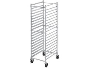 Channel Manufacturing Aluminum Knock Down Front Load 5 inch Spacing Bun Pan Rack, 70 1/4 x 20 1/2 x 26 inch -- 1 each.