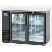 Arctic Air Back Bar Refrigerator with Two Glass Door, 48 inch -- 1 each.