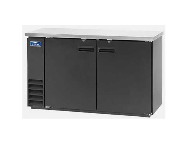 Arctic Air Solid Back Bar Refrigerator with Three Door, 72 inch -- 1 each.