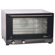 Cadco Stainless Steel Lisa Half Size Compact Convection Oven, 23.63 x 15.75 x 23.75 inch -- 1 each.