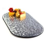 Lakeside Geneva Oval Rimless Swirled Display Tray, 18 x 36 inch Overall Size -- 1 each.