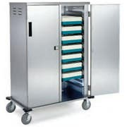 Lakeside Stainless Steel Elite Series Tray Delivery Cart, 20 Tray Capacity -- 1 each.