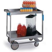 Lakeside Stainless Steel Heavy Duty Deep Shelf Utility Cart with 2 Shelves, 22 1/4 x 54 x 37 1/4 inch -- 1 each.