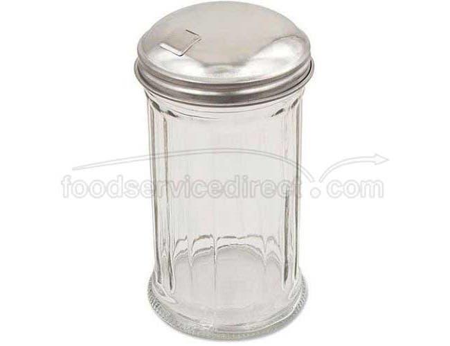 Alegacy Glass Fluted Sugar Pourer, 12 Ounce -- 24 per case.