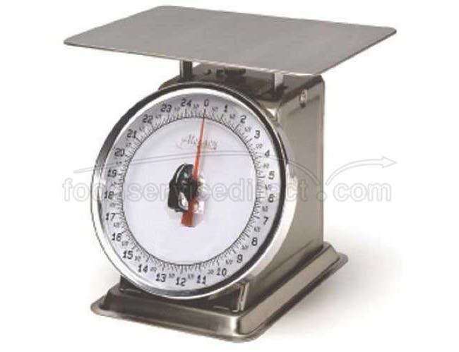 Alegacy Fixed Dial Portion Control Scale, 25 Pound Capacity -- 1 each.