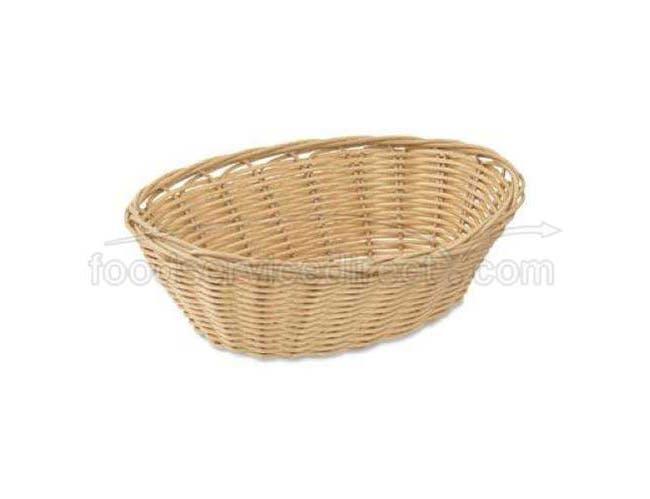 Alegacy Polypropylene Oval Basket, 9 x 6 3/8 x 3 inch -- 12 per case.
