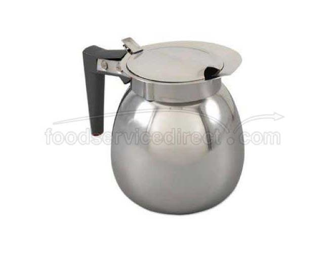 Alegacy Stainless Steel Regular Coffee Decanter, 64 Ounce -- 1 each.