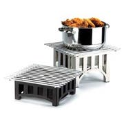 Cal Mil Mission Black Square Chafer Alternative, 12 x 12 x 5 inch -- 1 each.