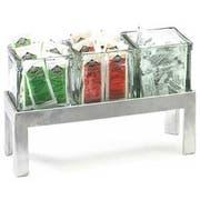 Cal Mil Aluminum Jar Riser, 11.875 x 4.25 x 4 inch -- 1 each.