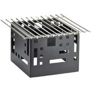Cal Mil Black Squared Chafer Alternatives, 12 x 12 x 7.375 inch -- 1 each.
