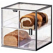 Cal Mil Iron 4 Drawer Bread Case with Front Door, 13 x 12.5 x 13 inch -- 1 each.