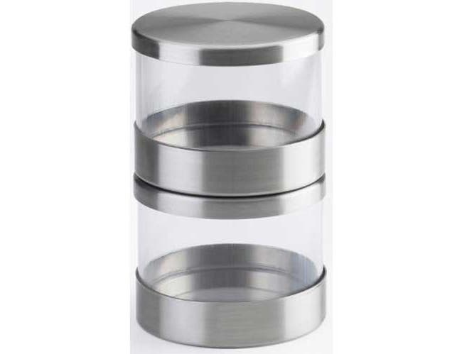 Cal Mil 32 Ounce Mixology Jar with Solid Lid, 5.125 inch Dia x 4.5 inch -- 3 per case.