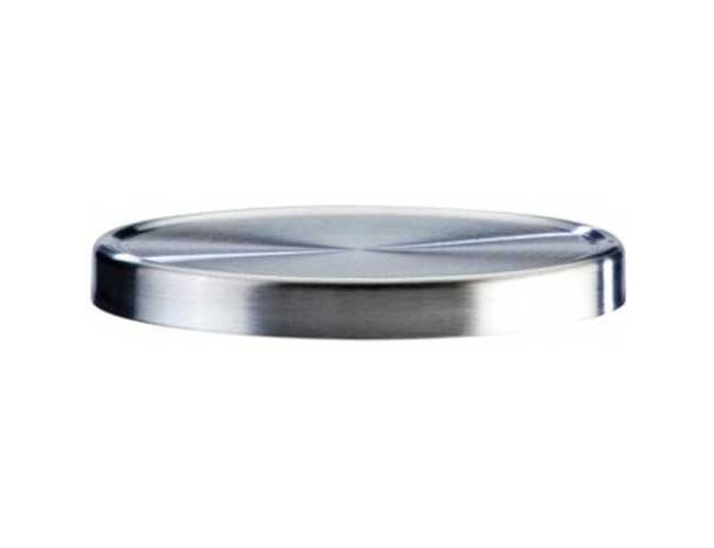 Cal Mil Replacement Stainless Steel Lid for 1851-5, 5 inch Dia. -- 3 per case.
