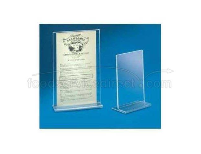 CalMil Uprite Style Cardholder, 8 1/2 x 11inch -- 12 per case.