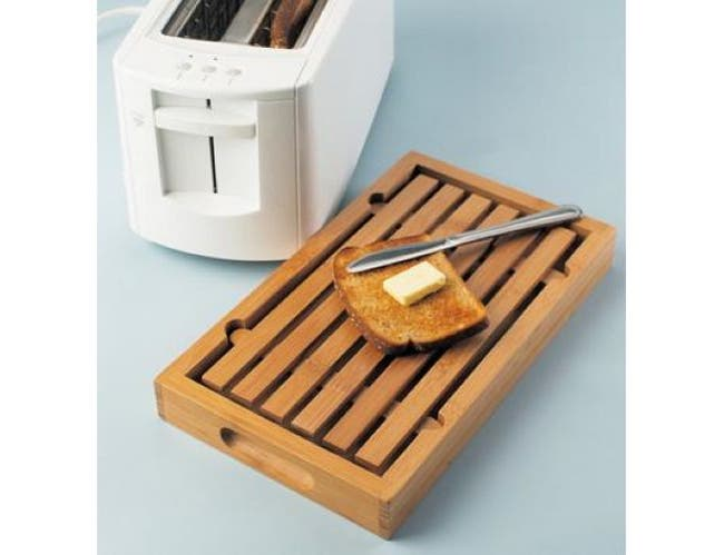 Cal Mil Bamboo Crumb Catcher, 13 3/4 x 8 x 1 1/2 inch -- 1 each.