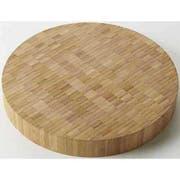 American Metalcraft Round Bamboo Butcher Block Serving Board, 12 inch Dia. -- 6 per case.