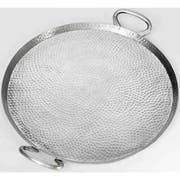 American Metalcraft Hammered Stainless Steel Round Griddle, 17 inch Dia. -- 4 per case.