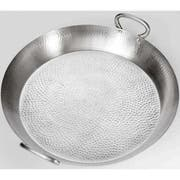 American Metalcraft Hammered Stainless Steel Paella Pan Griddle -- 4 per case.