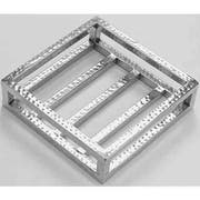 American Metalcraft Hammered Stainless Steel Small Crate -- 6 per case.