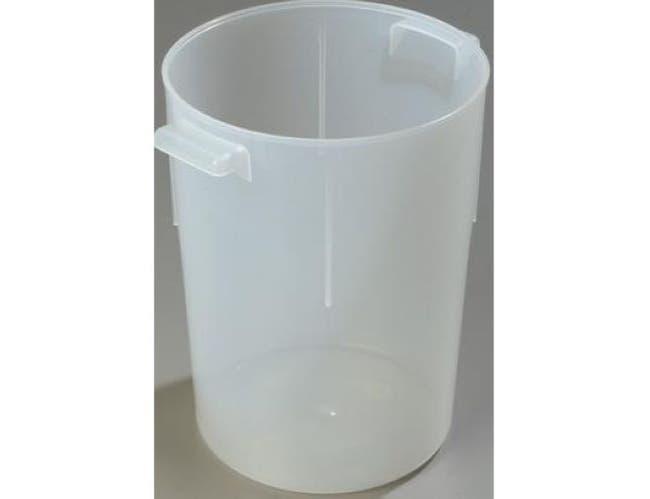 Carlisle Polypropylene See Thru Bains Marie Container, 8 Quart -- 1 each.