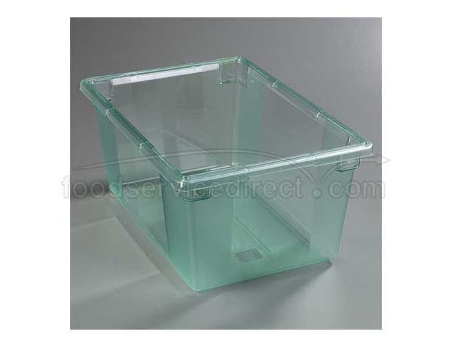 Green  Storplus Color Coded Polycarbonate Food Storage Box 18 x 26 x 12 inch -- 1 each
