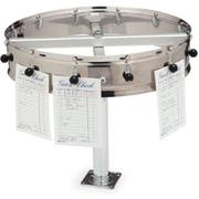 Carlisle Stainless Steel 12 Clip Counter Mount Order Wheel, 14 inch -- 1 each.