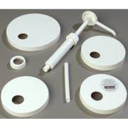 Carlisle White Pump Kit -- 1 each.