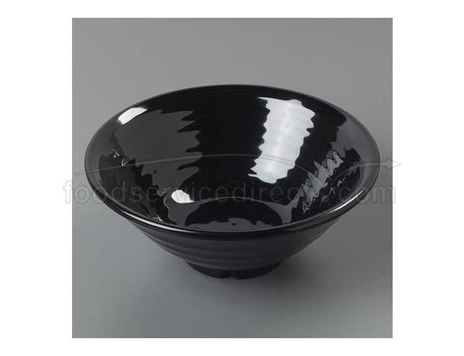 Black   Terra Super Heavy-Weight 40 Ounce Footed Bowl 8.5 inch Deep -- 1 each