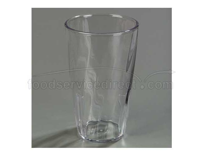 8 Ounce Swirl Clear Polycarbonate Tumbler -- 1 each