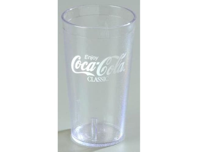 Ruby Coca Cola Classic Stackable SAN Tumbler -- 1 each