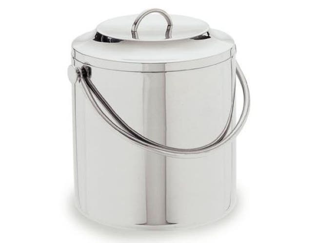 Carlisle 18-8 Stainless Steel Double Wall Ice Bucket, 3.5 Quart -- 1 each.