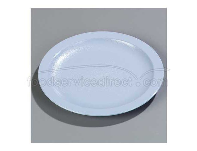 Blue Super-Tough Polycarbonate Narrow Rim Plate 9 inch -- 1 each