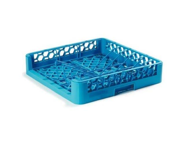 Carlisle Polypropylene Carlisle Blue OptiClean Bakery Tray and Sheet Pan Rack, 3.2 x 3.2 inch -- 1 each.