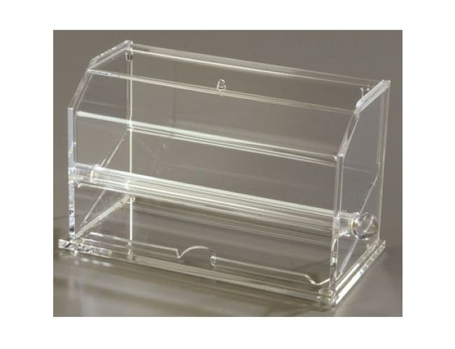 Carlisle Acrylic Clear Straw Dispenser, 11 x 5.56 inch -- 1 each.