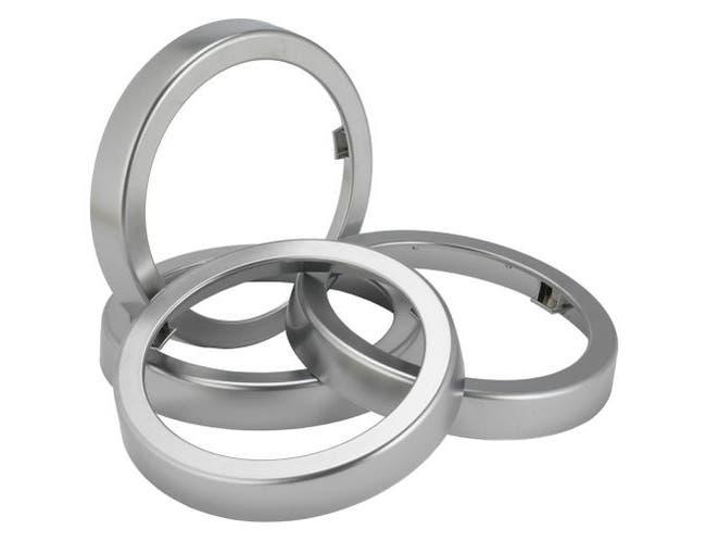 San Jamar EZ Fit Chrome Finish Ring Only - for C2410C EZ Fit Cup Dispensers, 2 per pack -- 1 pack per case