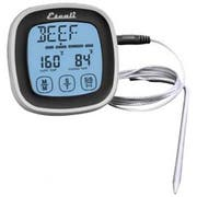 San Jamar Black Touch Screen Thermometer and Timer, 3 x 3 x 1 inch -- 1 each.