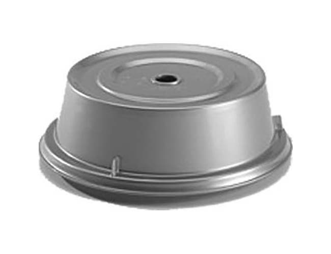 Cambro Silver Metallic Camwear Camcover Plate Cover Only, 11 inch Inside Diameter -- 12 per case.