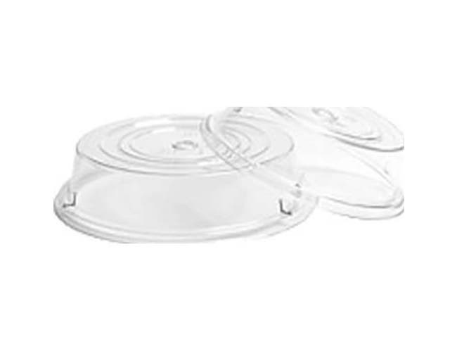 Cambro Clear Camwear Camcover Plate Cover Only, 9 1/2 inch Inside Diameter -- 12 per case.